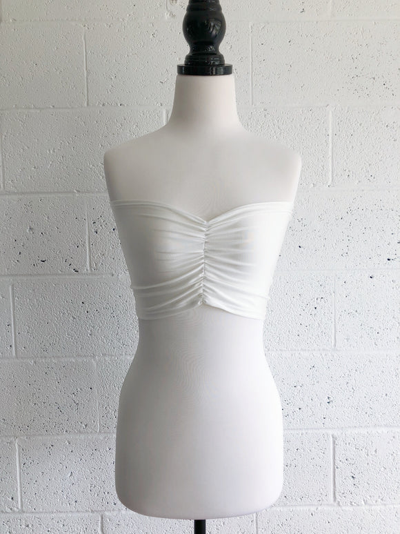 Ruched Bandeau - Made by Erika Convertible Collection