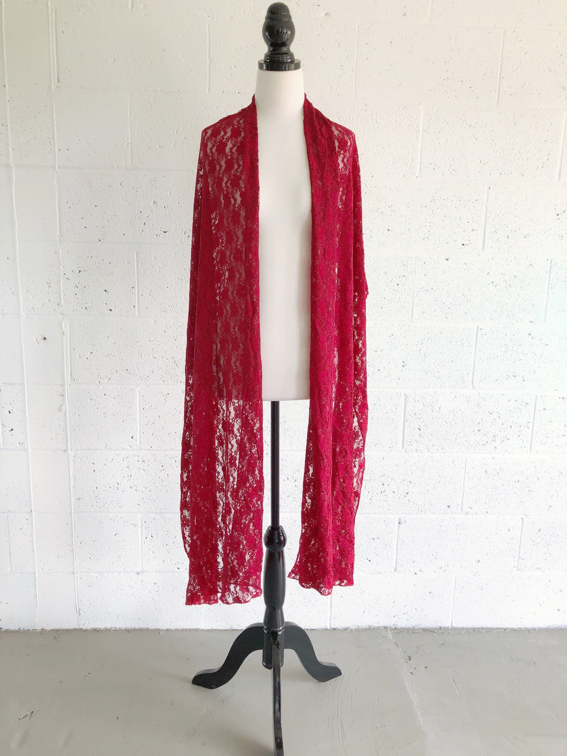 Lace Shawl - Made by Erika Convertible Collection