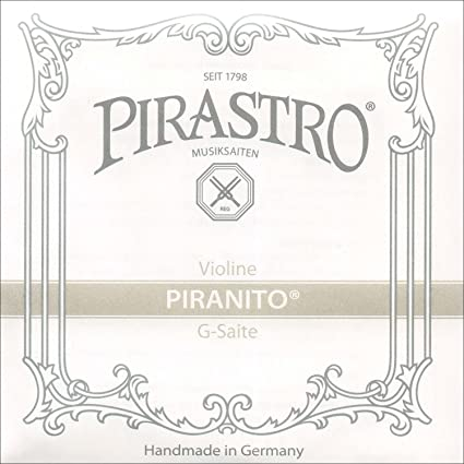 Ropes PIRASTRO violin Piranito set G