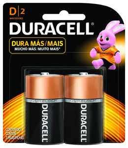 Bateria DURACELL D 2-pack