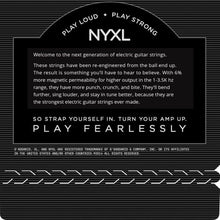 Load image into Gallery viewer, Nyxl electronic guitar additional strings 10-46