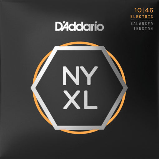 Nyxl electronic guitar additional strings 10-46