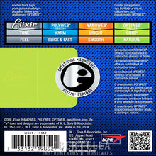 Load image into Gallery viewer, Optiweb 19052 ELIXIR Electric Guitar Strings 10 - 46