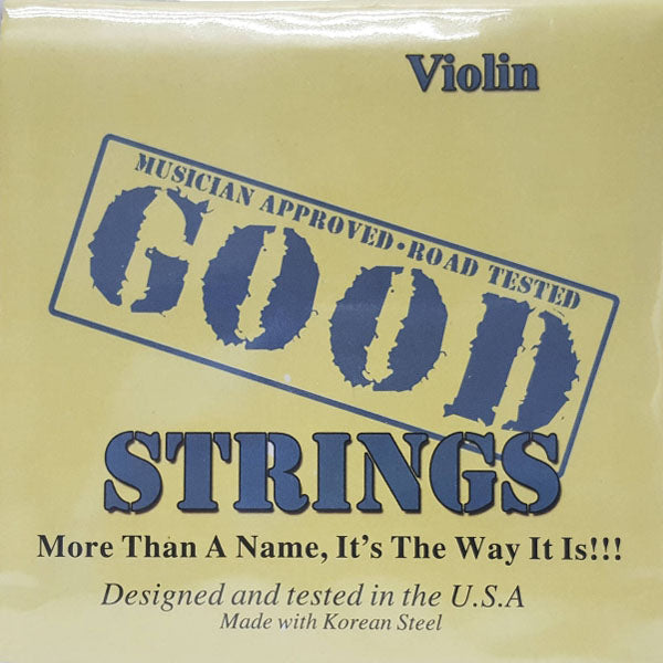Cuerdas GOOD STRINGS violín 4/4 set