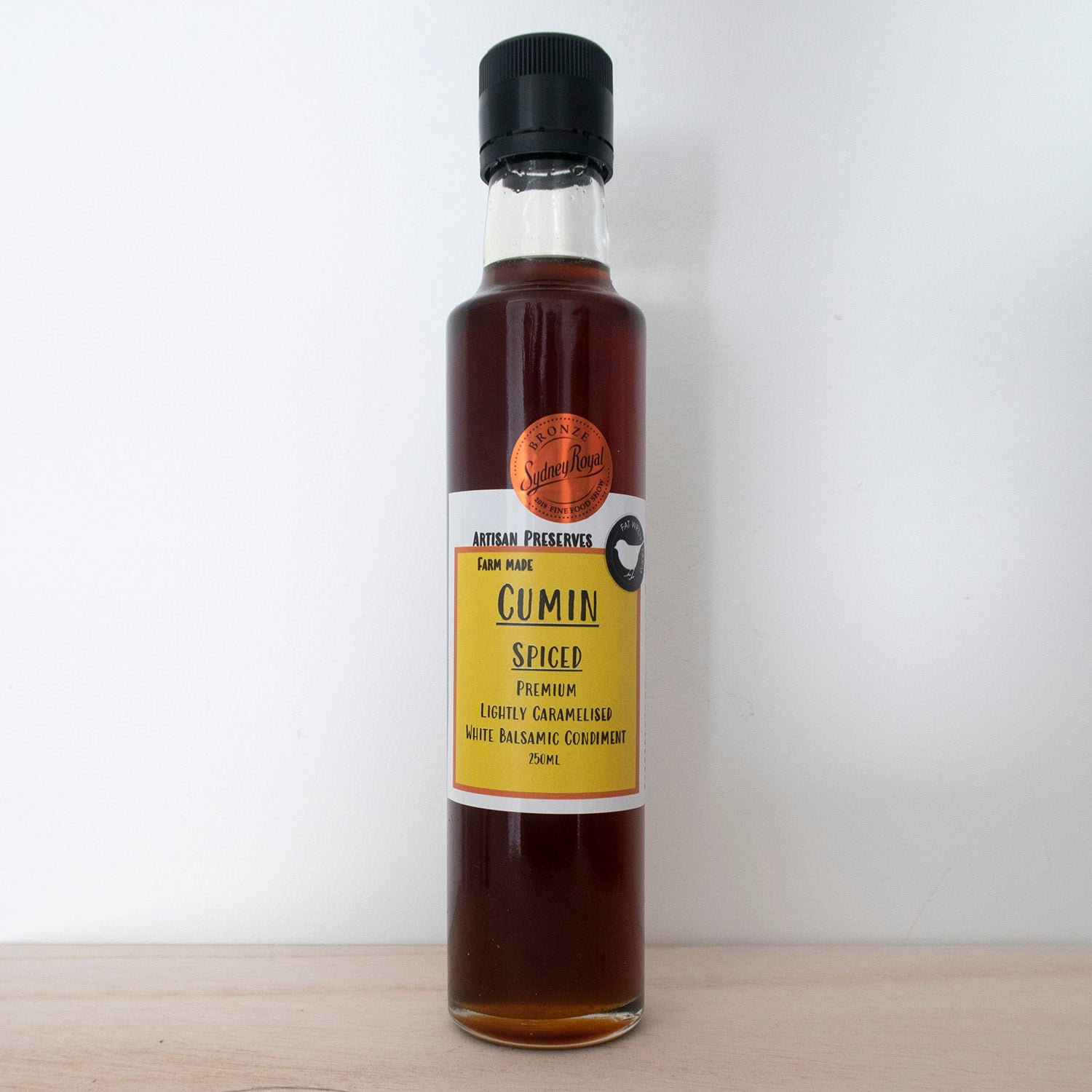 Cumin Spiced Caramelised Vinegar