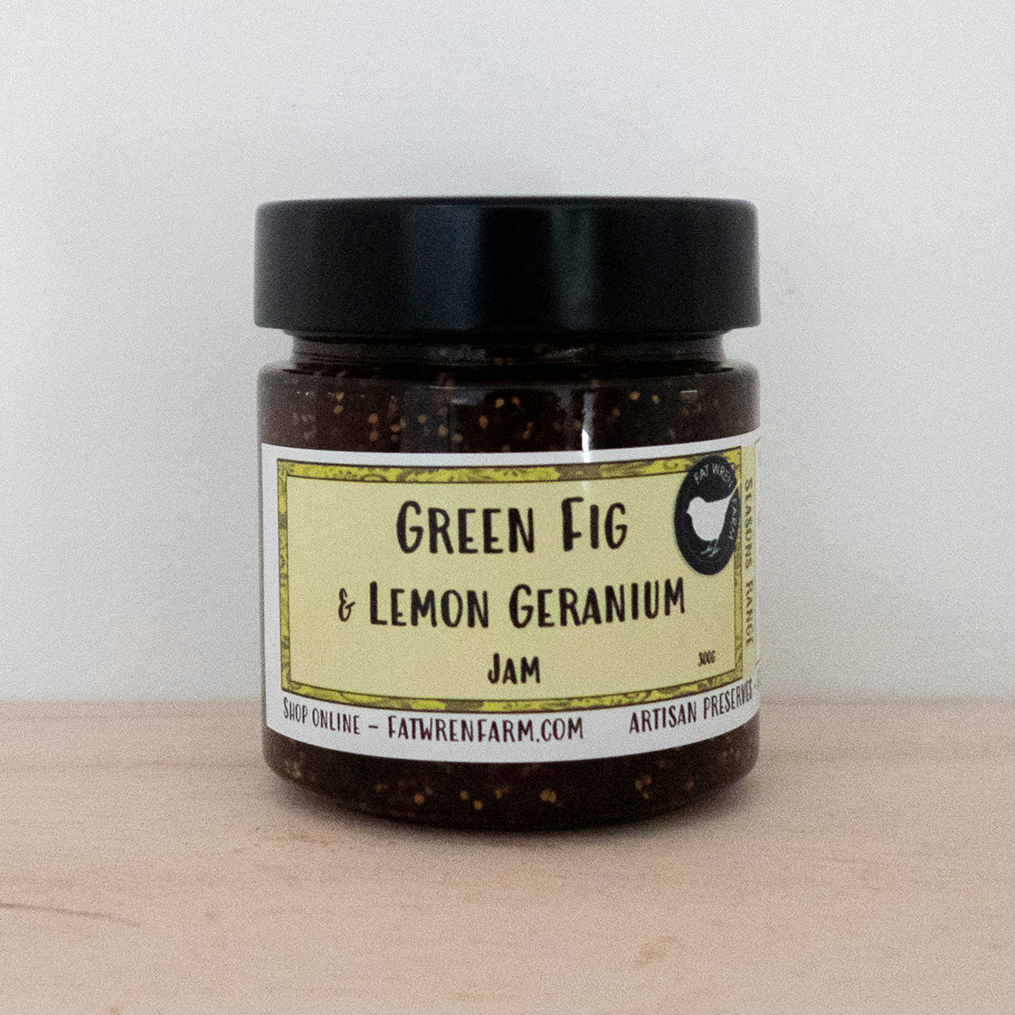 Green Fig & Lemon Geranium Jam