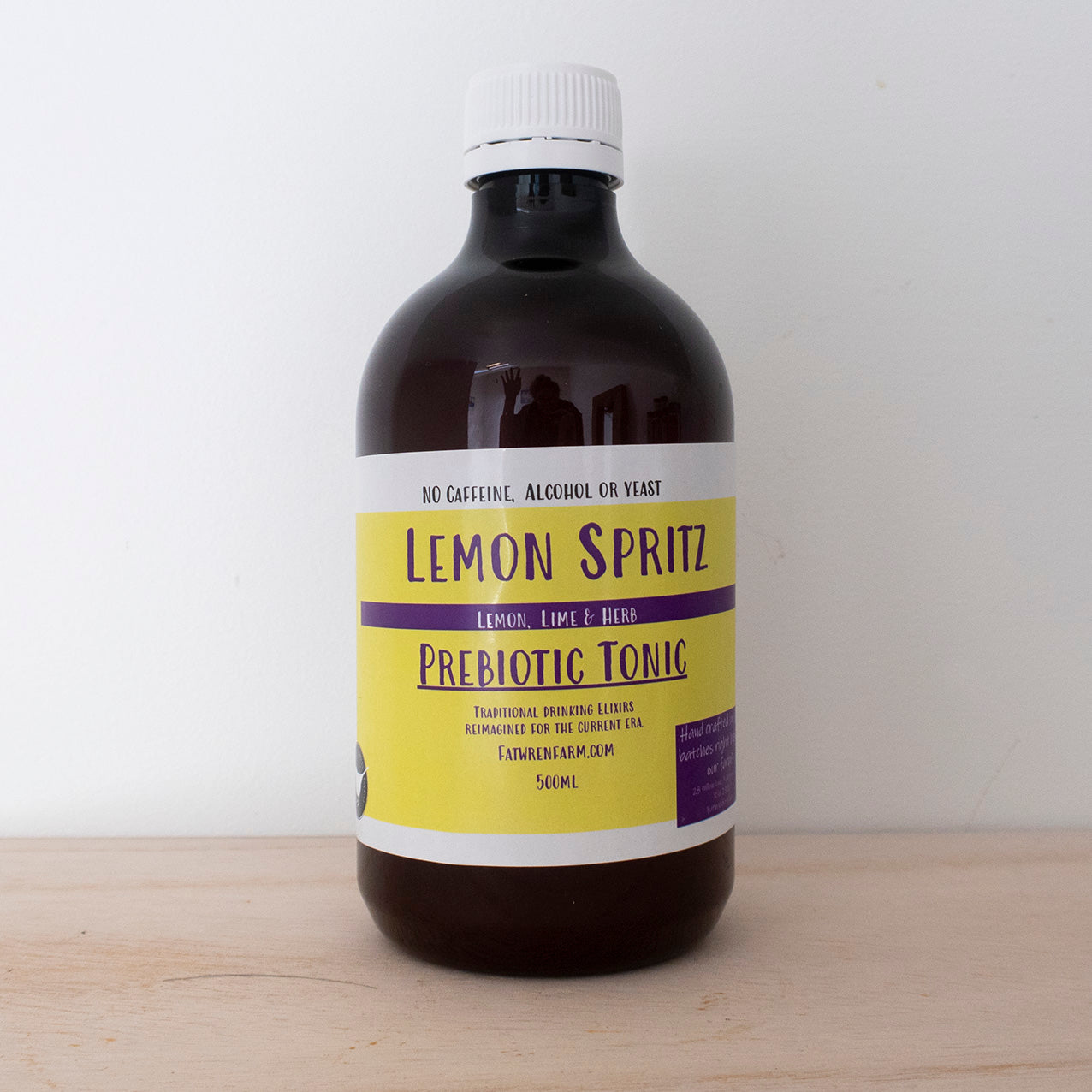 The Lemon Spritz Prebiotic Tonic