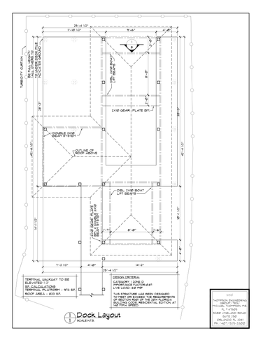 AR Standard Dock Plan