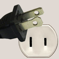 Standard USA electrical outlet