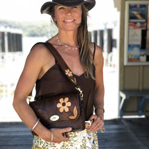 Tiggy Fergie - Buttercup Shoulder Bag Vintage Brown