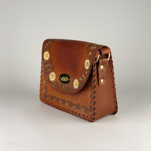 Tiggy + We Are Kindred Daisy Chain Jane - Shoulder Bag Cognac