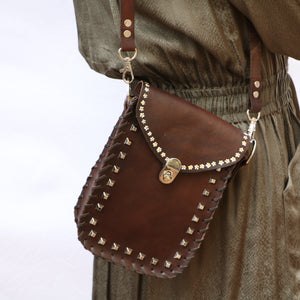Tiggy Kelly Lovers Daise - Crossbody Chocolate