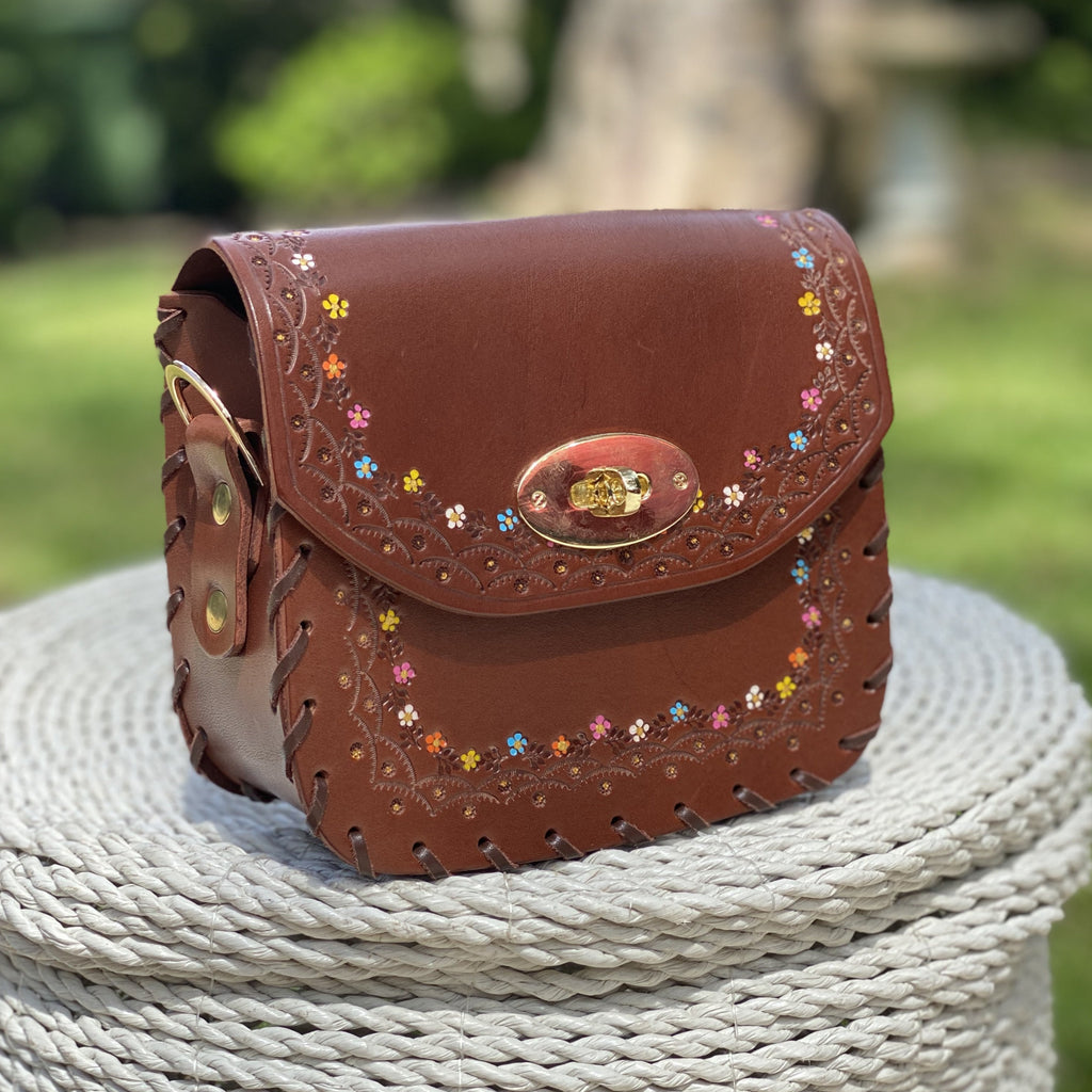 Tiggy Sweet Jane - Mini Cross Body Vintage Brown