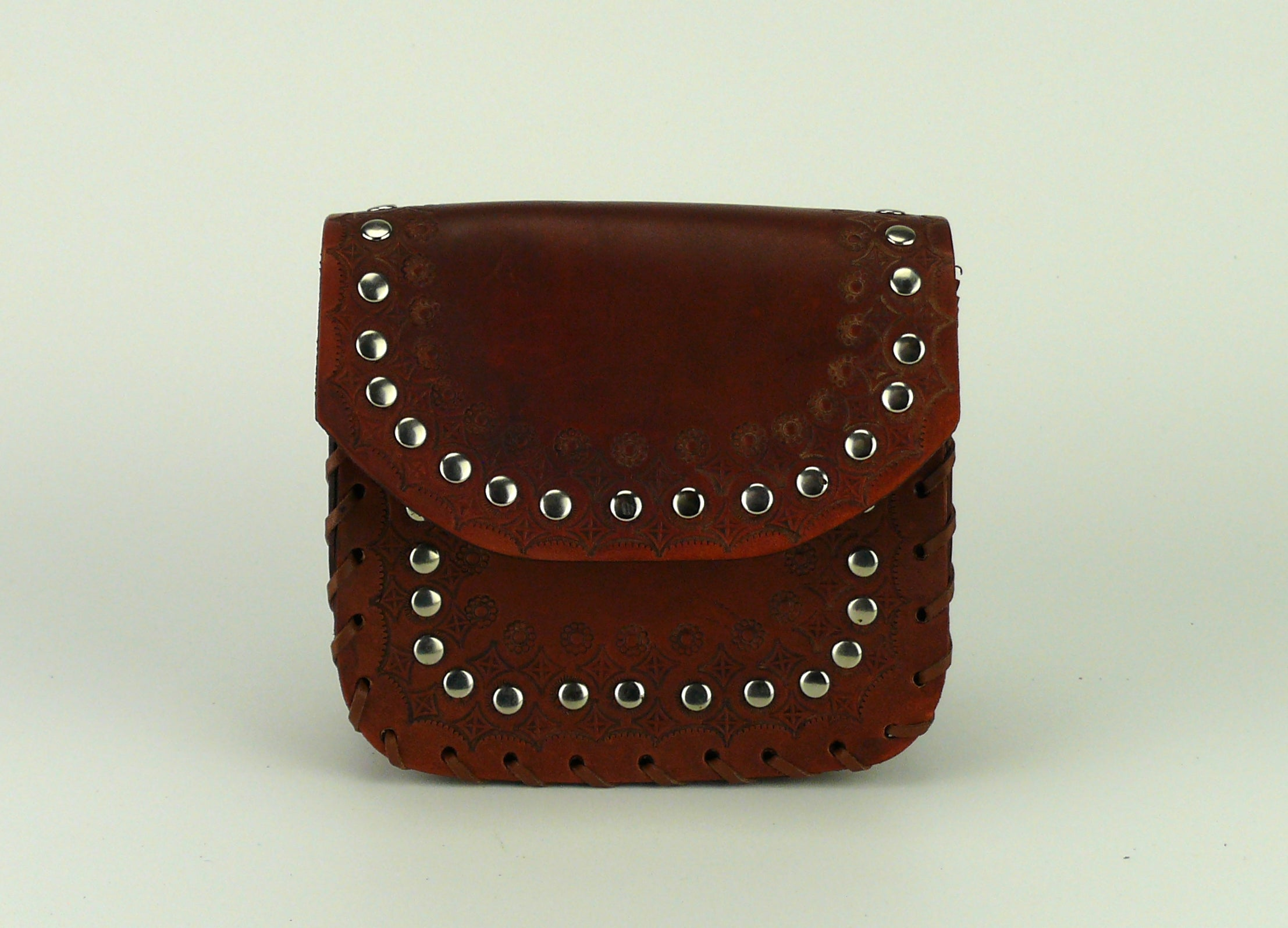Tiggy Studded Lace - Belt Bag Tan