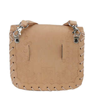 Tiggy Studded Lace - Belt Bag Natural