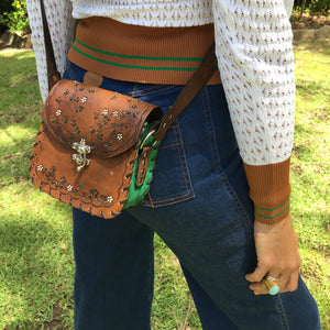 Tiggy English Garden - Cross Body Vintage Brown