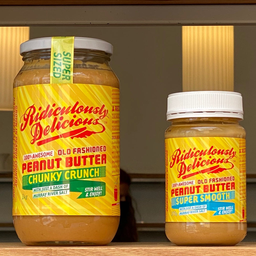 Ridiculously Delicious Peanut Butter - Sunday