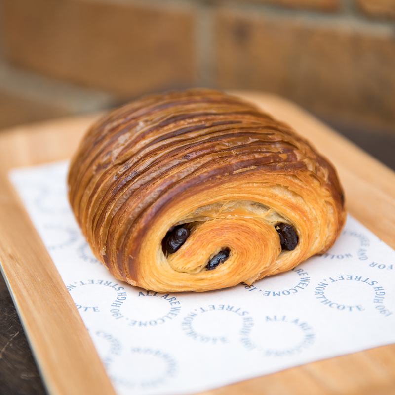 Pain au Chocolat - Tuesday