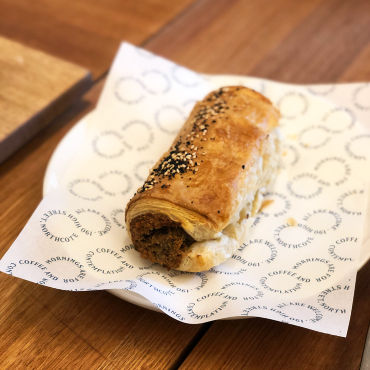 Vegetarian Sausage Roll - Wednesday