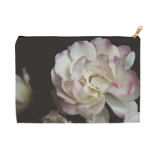 Pink Tipped Rose | Accessory Pouches