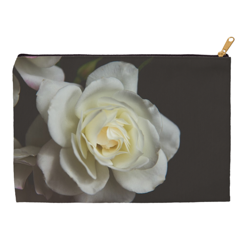 White Rose | Accessory Pouches