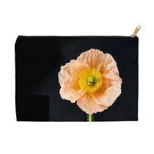 Peach Icelandic Poppy | Accessory Pouches