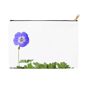 Wild Blue Geranium | Accessory Pouches