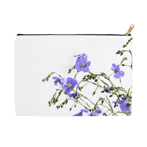 Blue Flax Wildflowers | Accessory Pouches