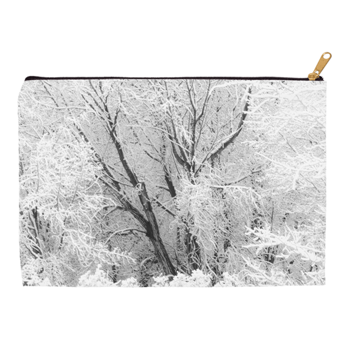 Snowy Cottonwood Tree | Accessory Pouches