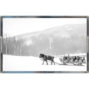 Pine Creek Sleigh Ride | Acrylic Trays