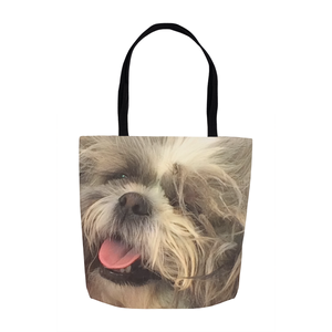 Happy to Go (Melee) | Shih Tzu | Dog Lover Collection | Tote Bags