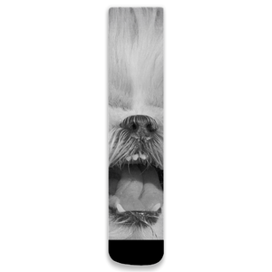 Smile More (Jewelie) | Shih Tzu | Dog Lover Collection | Socks