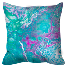 Green Days | 16x16 Outdoor Pillow