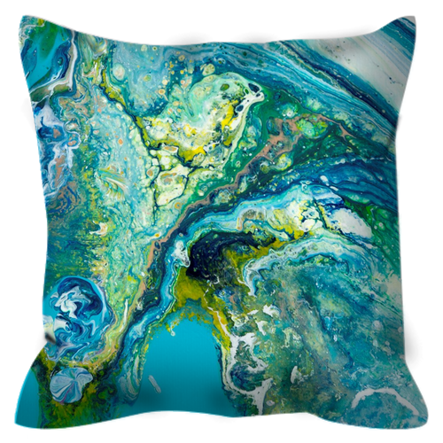 Planet Earth | 16x16 Outdoor Pillow