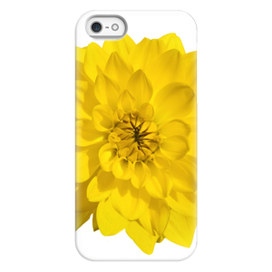 Giant Yellow Dahlia | iPhone Phone Cases
