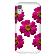 Hot Pink Zinnias | iPhone Phone Cases