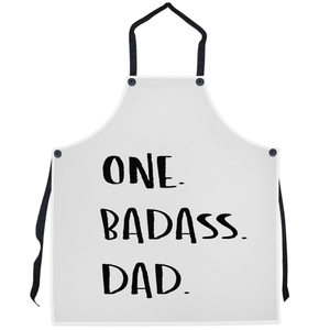 One. Badass. Dad.  | Aprons