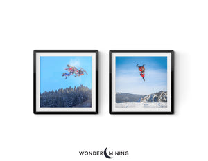 Snowmobile Freestyle | Set of 2 | Digital Downloads
