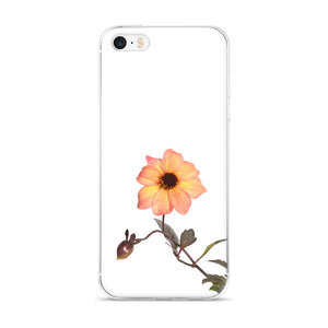 Peach Mystic Haze Dahlia | iPhone Case (All Sizes)