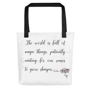 "WB Yeats ""Magic Things"" Quote 