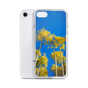 Look Up Blue Skies (Aspen, Colorado) |  iPhone Case (All Sizes)