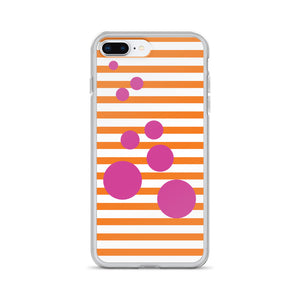Summer Pop | Tangerine + Pink | iPhone Case