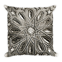 Moroccan Star (Marrakesh, Morocco) | 18x18 Square Pillow with Insert