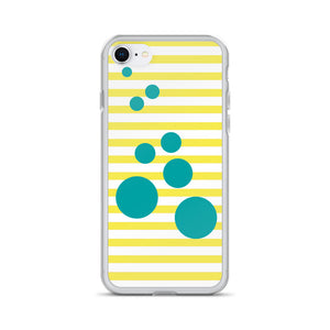 Summer Pop | Lemonade + Turquoise iPhone Case