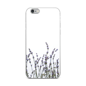 Row of Wild Purple Lavender | iPhone Case (All Sizes)