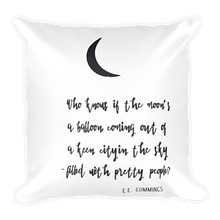 "EE Cummings ""Moon Balloon"" Quote 