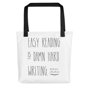 "Nathaniel Hawthorne ""Easy Reading"" Quote  