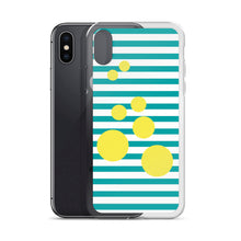Summer Pop | Turquoise + Lemonade iPhone Case