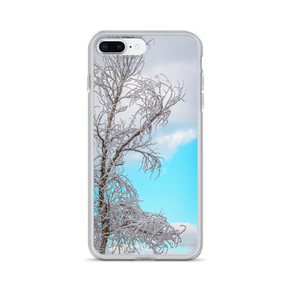 Turquoise Winter Sky | iPhone Case (All Sizes)