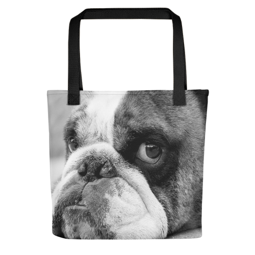 Bulldog Days (Flash) | 15x15 Tote Bags